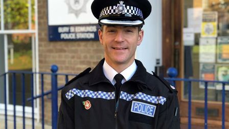 Temporary Superintendent Simon Mills Picture: SUFFOLK CONSTABULARY