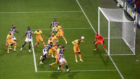 Tottenham Hotspur's Lucas Moura clears the ball during the Premier League match at The Hawthorns, We