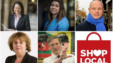 MPs clockwise from top left: Catherine West; Tulip Siddiq; Mike Freer; Sir Keir Starmer; Karen Buck. Pictures: MPs'...