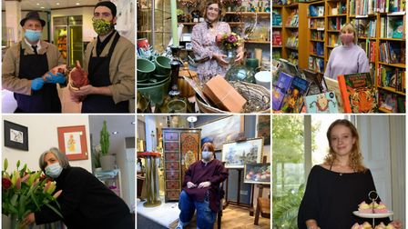 Some of the longstanding traders and budding entrepreneurs we're supporting as part of Shop Local. Pictures: Polly...