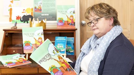 Author Kaye wants to get kids back into reading to help improve their language skills. Picture: Ricc