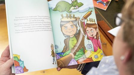 Princess Nanny will soon be available, launching at The Chicken and Frog Bookshop, Brentwood, Pictur