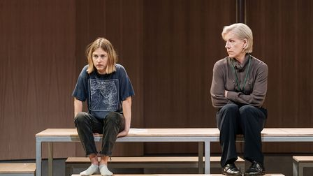 Ria Zmitowicz and Juliet Stevenson in The Doctor. Picture: Manuel Harlan.