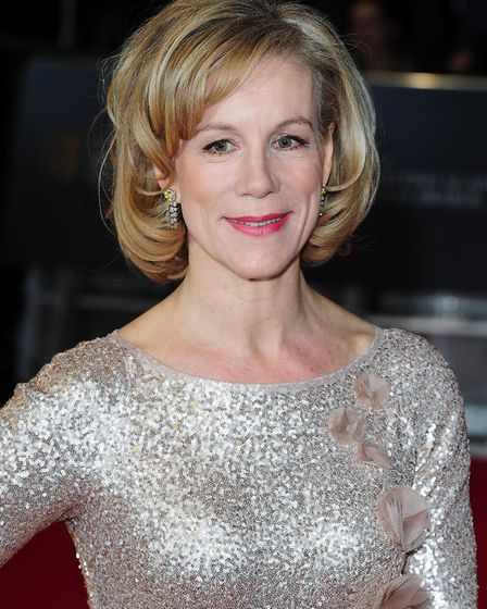 Juliet Stevenson arriving at The EE British Academy Film Awards 2014. Picture: Ian West/PA