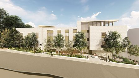 Designs for the new hospital. Picture: Camden and Islington NHS Foundation Trust