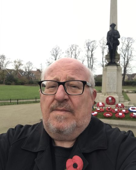 Former Ilford South MP Mike Gapes paid his respects in private honouring his great uncle William Fra