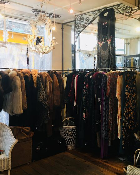 Annie's has provided the clothes to The Great Gatsby films. Picture: Amber Baxter-Clarke