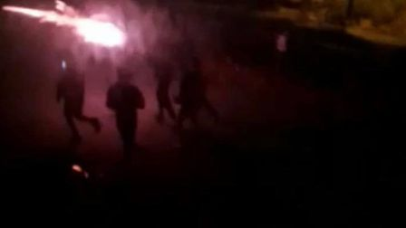 A gang of youths pelted fireworks at the Harmsworth Animal Hospital in Finsbury Park. Picture: RSPCA