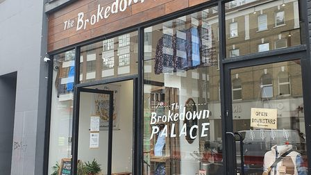 The Brokedown Palace is now located in Shoreditch High Street but started life in a little wooden ca
