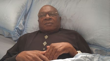 Rev Albert Harriott is has been waiting for an operation at Northwick Park