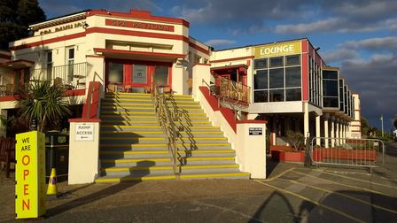 The Spa Pavilion in Felixstowe, which is looking for planning permission to start an extensive investment programme in the...