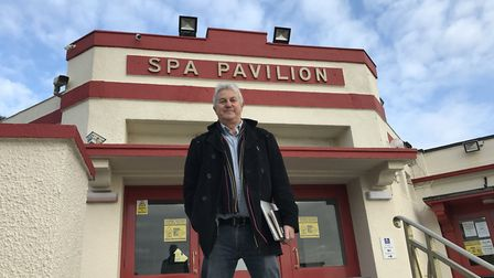 Ray Anderson at Felixstowe's Spa Pavilion. Photo: Stephen Foster