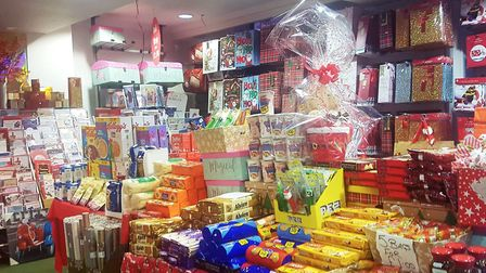 The Christmas shop is abiding by the law according to staff members who said they sell essential items. Picture: ARCHANT