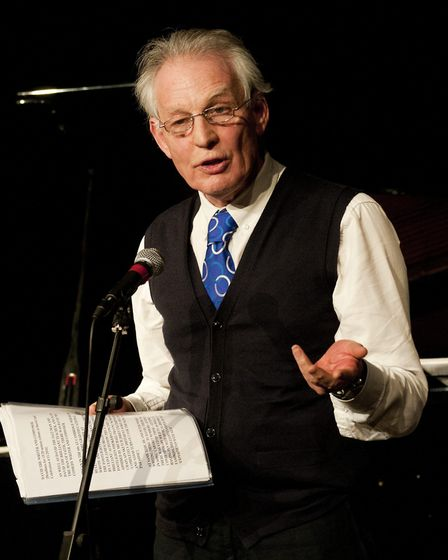 Hampstead radio producer Piers Plowright is one of the judges of the poetry competition