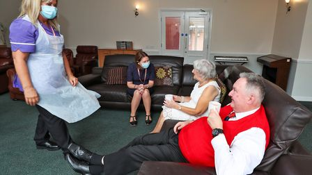 Two care homes will take elderly people who test positive for Covid when they leave hospital so they don't spread the...