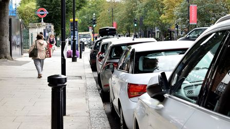 A net total of 76 parking spaces wll be lost from Haverstock Hill. Picture: Polly Hancock