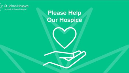 St John's Hospice's emergency Covid fundraising appeal. Picture: St John's Hospice