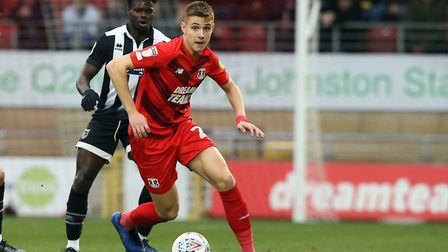 Orient's Hector Kyprianou impressed in midfield against Charlton Athletic. Picture: Simon O'Connor
