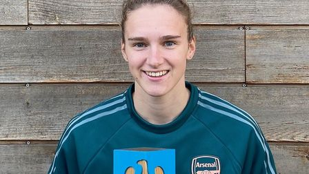 Vivianne Miedema won player of the month after becoming the WSL's record goalscorer. Picture: Submit