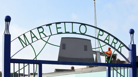 The project is being built at the Sea Road entrance to Felixstowe's Martello Park and will be run by