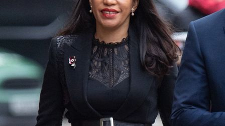 Leicester East MP and Islington councillor Claudia Webbe arrives at Westminster Magistrates Court to