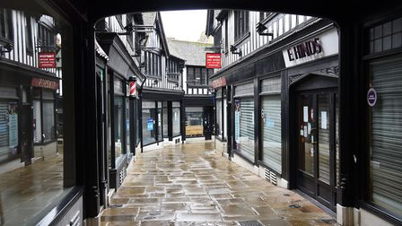 The Walk in Ipswich town centre, pictured on Sunday November 15. Picture: CHARLOTTE BOND