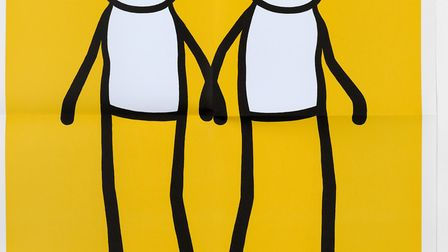 Hackney street artist STIK created thousands for prints for local people but many were stolen before