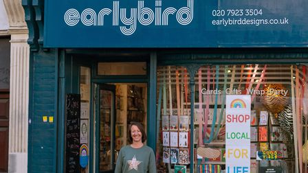 Co-owner of Stoke Newington Church Street shop Earlybird Designs, Heidi Early encourages residents to shop local, not just fo...