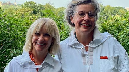 Esther Coles and Jane Horrocks are both actors and long term friends who do a joint podcast Queen Be