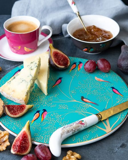 A Sara Miller cheese plate. Picture: Sara Miller, London