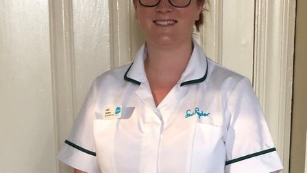 Ashlie Meadows, who works at Sue Ryder Neurological Care Centre The Chantry. Picture: SUE RYDER
