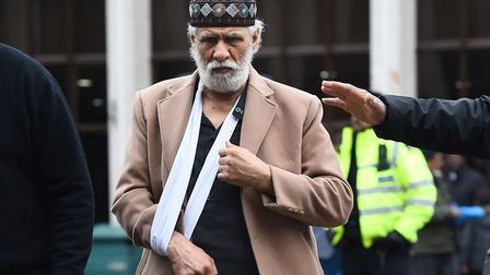 Prayer leader Raafat Maglad returned to Regent's Park Mosque just days after he was attacked there.