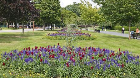 Valentines Park is one of nine parks in the borough vying to be amongst the country's top ten green