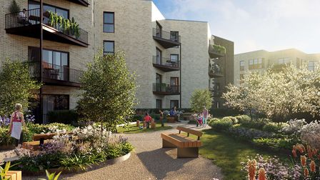 All houses and apartments are designed to have balconies or terraces and communal areas will include