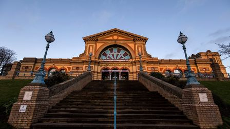 Alexandra Palace during the World Darts Championship. Picture: Steven Paston/PA