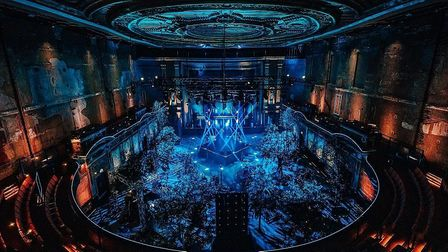 Alexandra Palace's theatre was transformed to record the Melody VR Wireless festival earlier this year. Picture: Luke Dyson