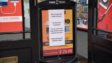 Ipswich shops are offering click and collect Picture: CHARLOTTE BOND