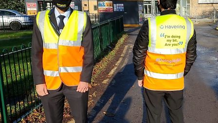 Havering's Covid-19 marshals. Picture: Havering Council