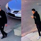 Police want to speak to these young men in connection with a stabbing in Richmond Road, Ilford. Pict