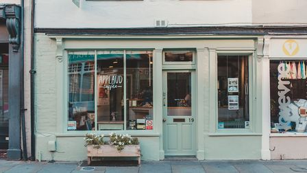 Applaud Coffee in St Peter's Street, Ipswich, will be staying open for takeaway food and coffees Pi