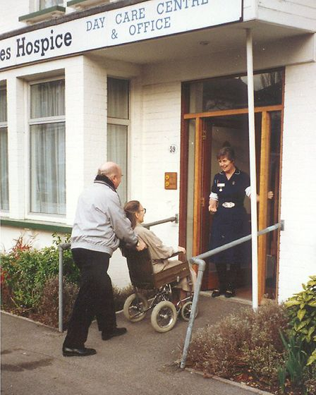 Ann Hatswell, co-founder of St Luke's Hospice,was the first nurse when it opened in 1987. Picture: St Luke's