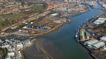 Ipswich is one of the ports to benefit from 'Brexit transition' money. Picture: MIKE PAGE