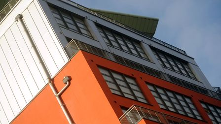 Cardinal Lofts on Ipswich Waterfront where a 'waking watch' is needed to protect residents from fire