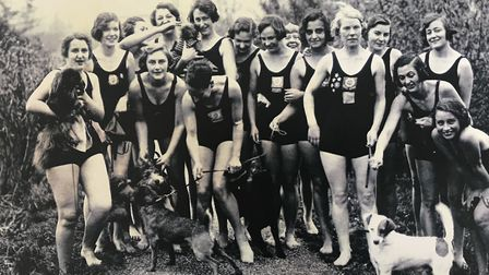 Ladies' Pond swimmers pictured in images now available at the KLPA archive in Bishopsgate Institute. Picture: KLPA Archive