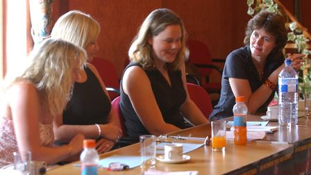 The judges discuss the candidates for Kids Stars in Their Eyes Picture: JAMIE NIBLOCK/ARCHANT