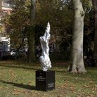 Maggi Hambling's statue in Newington Green, dedicated to Mary Wollstonecraft. Picture: Ioana Marines