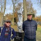 The Gazette spoke to people passing the statue to get their opinion. Left to right: Martin Lynch, 57