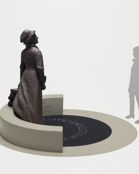 Martin Jennings' design for the Mary Wollstonecraft statue. Picture: Steve Russell Studios