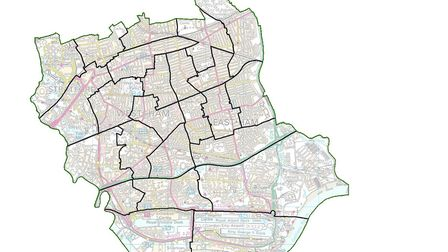The final recommendations for Newham's ward boundaries have been drawn up. Picture: LGBC