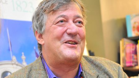 Stephen Fry will be talking about the dramatic story of Troy in the latest series of Ipswich Regent